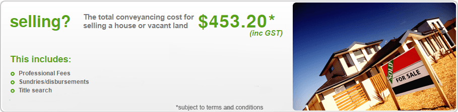 Total Conveyancing Cost for Selling a House or Vacant Land - Moreton Bay QLD